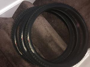 3. 26' inch CST mountain bike tyres.