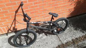 BMX bike. Brand new used once. Wethepeople arcade bike with 4 grinding pegs fitted.