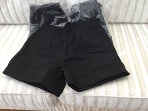 BRAND NEW QUALITY RUGBY SHORTS BLACK 3 PAIRS