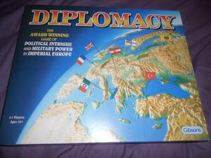 Diplomacy - the ultimate strategy board game.