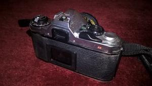 PENTAX ME SUPER camera, 28mm lense with full black leather case