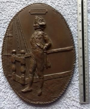 Plaque of Lord Nelson