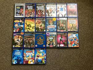 Range of PS2 games 50p to £3 each