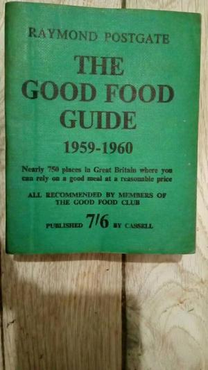 Raymond Postgate The good food guide