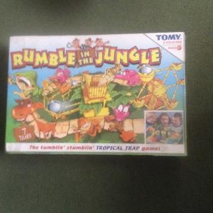 Rumble in the Jungle Tomy retro board game. New unopened, in original sealed box.