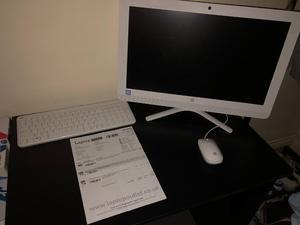 "HP All in One PC - 21.5"" HD Screen. 8GB RAM, 2TB HDD"