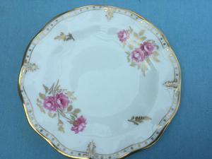 Royal crown derby china pinxton fluted plate lovely condition