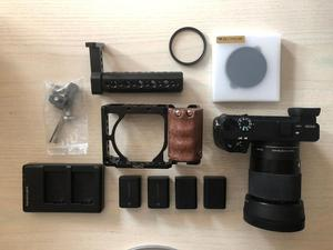 Sony a - Sigma 30mm 1.4 Lens + Lots of Extras