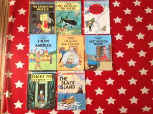 TINTIN - The Adventures of TINTIN 8 books £