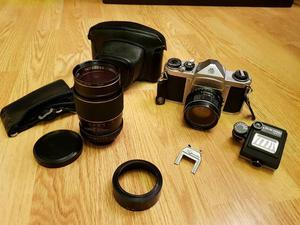 ASAHI PENTAX S1a 35mm SLR Camera with Super-Takumar Lenses