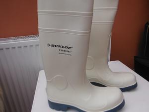 Brand New Purofort White Wellingtons Size 6