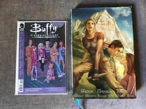 Buffs the Vampire Slayer book and comic