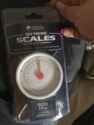 Day fishing scales