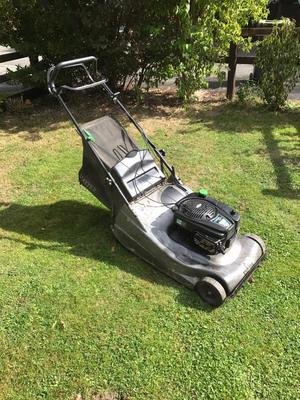 Hayter 56 pro petrol self drive lawnmower