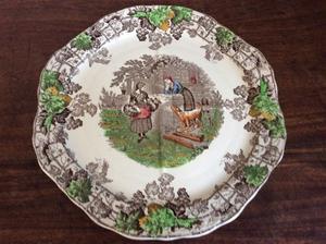 Spode Sandwich Plate