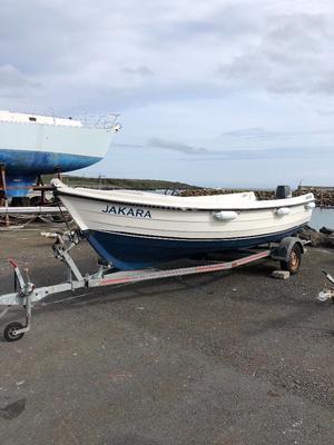 19ft Orkney boat