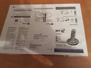 BT Cordless phones x 3