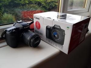 Canon 80D 2.2k Actuation mm lens