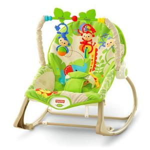 Fisher Price Infant To Toddler Chair with Toybar & Vibrate Cost £60