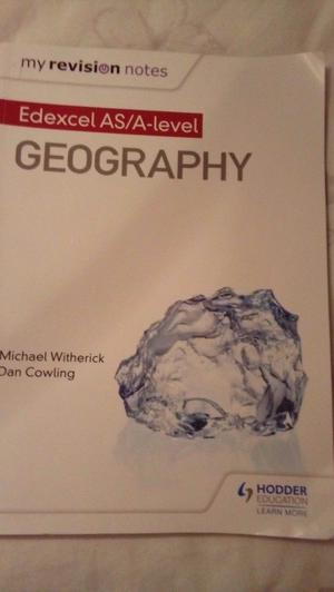 Geography AS/A level book