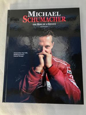 Michael Schumacher - The Rise of a Genius by Luc Domenjoz (hard back)