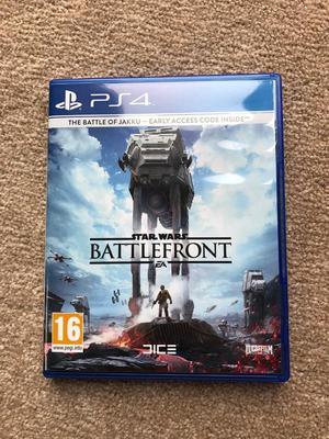PlayStation 4 Game Star Wars Battlefront (PS4)