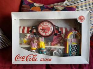 Retro coca cola clock