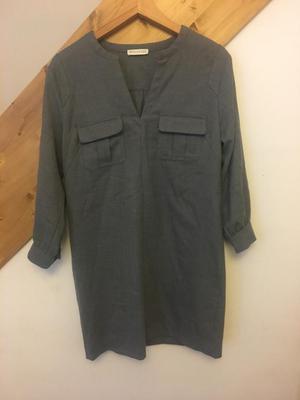 Whistles grey tunic dress 12