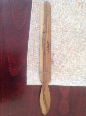 Wooden antique letter opener