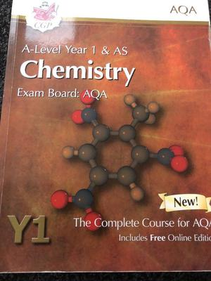A-Level Year 1 & AS Chemistry book