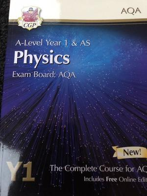A-Level Year 1 & AS Physics book