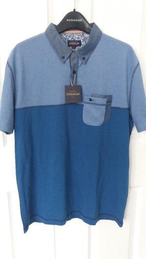 Brand New Mens Oakman Polo Shirt Size Medium  chest.
