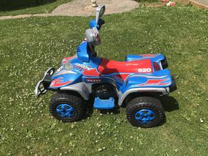 Kids 6v battery powered ride on quad bike from Toys R Us