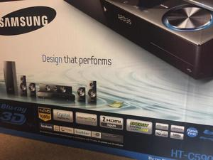 Samsung 3D Blu ray player + 5.1 surround sound (Brand new -