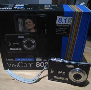 Vivitar ViviCam MP Digital Camera - Black