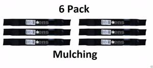 6 Pack Stens  Mulching Blade for Husqvarna McCulloch