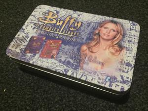 Buffy The Vampire Slayer RARE Playing Cards Tin