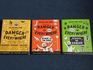 Danger is everywhere books