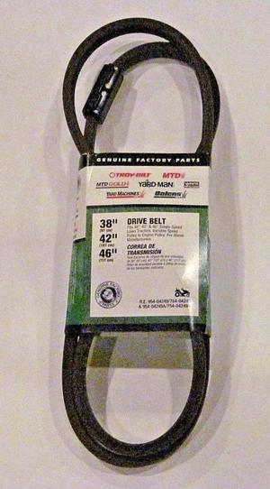 "GENUINE OEM MTD Troy-Bilt Yard-Man "" Drive Belt"