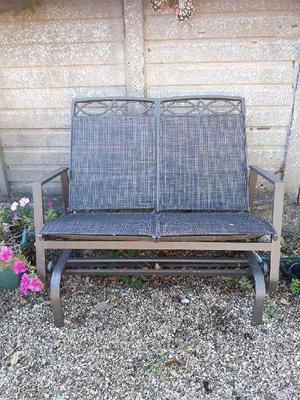 Garden Twin Rocking Chair