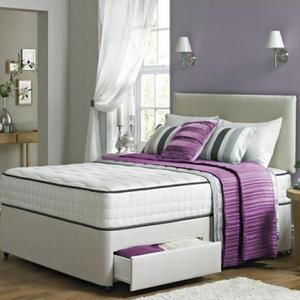 Kensington Divan Bed with Mattress - BRAND NEW