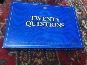 MB Twenty Questions board game brand new