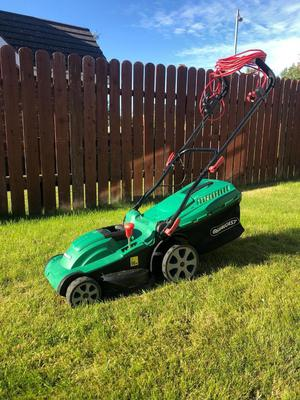 Qualcast w electric rotary Lawn Mower 37cm