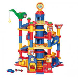 Wader Park Tower 3 Storey Garage with Cars and Street