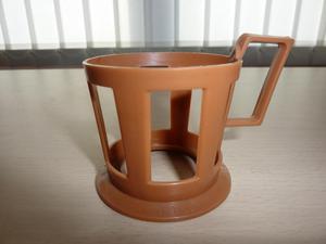 26x vintage retro brown Plastic Cup Holders