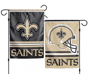 New Orleans Saints NFL Garden Flag Football Double Sided