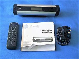 "Pinnacle SoundBridge M400PX Digital Audio Streamer VGC ""TE"""