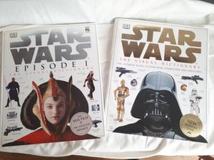 2 Star Wars books - hard back