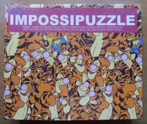 Impossipuzzle: Tigger by Disney & B.V.L.: 550 Piece Jigsaw