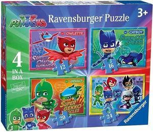 Ravensburger PJ Masks - 4 in 1 Jigsaw Puzzle